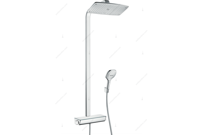 Душевая система Hansgrohe Raindance Select  Showerpipe  360 27112000, хром